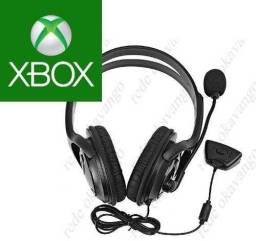 Fone De Ouvido Xbox 360 Headset Microfone P/jogos Online Chat