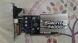Placa de vídeo silent 8400gs e placa mãe soyo e dvd