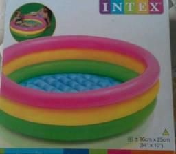 "Piscina infantil marca Intex 86cm x 25cm (34"" x 10"")"
