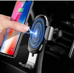 Suporte de celular Veicular com carregador indução