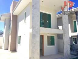 Linda casa com 3 suítes, sala ampla, 4 vagas - Cabo Frio/RJ