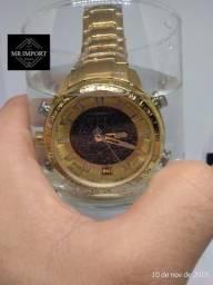 f03c7b5c2ac Relógio Naviforce Original Aprova d água