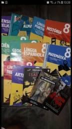 Livros do 8° ano -Colegio Adventista