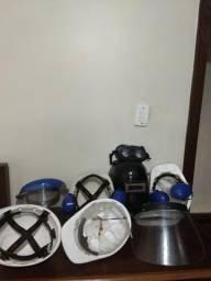 Kit de capacetes de segurança