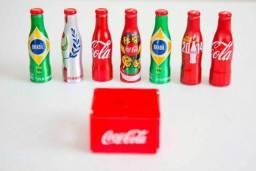 Mini Garrafinhas e Engradado Coca Cola Copa 2014