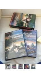 Box da primeira temporada de the vampire diares (love sucks) - 5 discos - usado