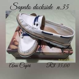 8a0a2c620 Sapato mocassim Ana Capri n° 35