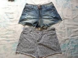 Vendo os dois shorts