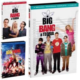 DVDs The Big Bang - A Teoria 1, 2 e 5 temporada