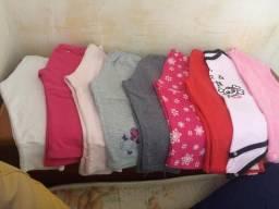 Lote de calças menina