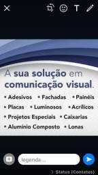 Serviços de comunicação visual