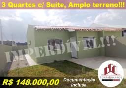 Casa de condomínio à venda com 3 dormitórios em Estados, Fazenda rio grande cod:CA00122