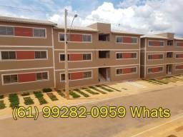 Apartamento 2 Quartos, arejado e espaçoso, saia do alug.uel, a partir de370 mensal(Ref.06)