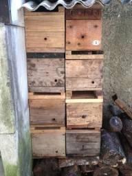 Caixa de abelha jatai e mirim