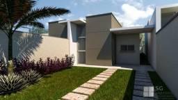 Casa com o acabamento diferenciado em aquiraz, com 2 suítes, CA2204