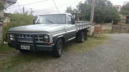 Troco por caminhão 3/4 baú maior, - 1986