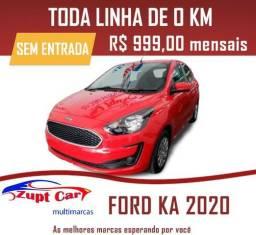 Ford Ka Se 2020 0 km - Uber / 99 - Sem Entrada