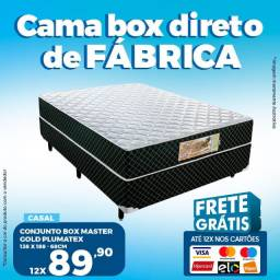 Título do anúncio: Cama Box Casal Completa Direto de Fábrica