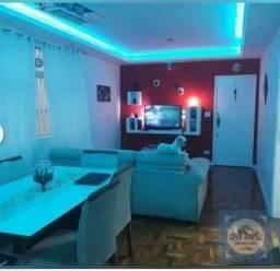 Apartamento com 3 dormitórios para alugar, 134 m² por r$ 3.000/mês - josé menino - santos/