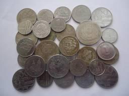 30 moedas antigas nacionais para colecionadores