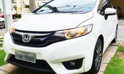 Honda New Fit 2015 EXL Automático Branco (Impecável) IPVA pago! - 2015