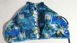 Biquíni azul marinho