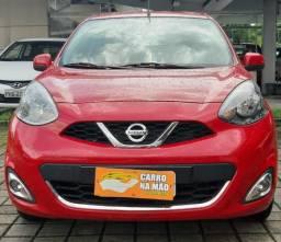 Nissan march 1.6 sl completao aceita troca e financia - 2015