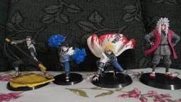 Action Figure Dragon Ball Z, Kimetsu no yaiba, Naruto e Marvel