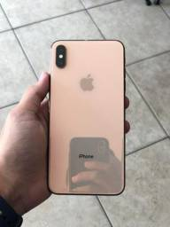 Iphone xs max 64gb gold 3 meses de uso
