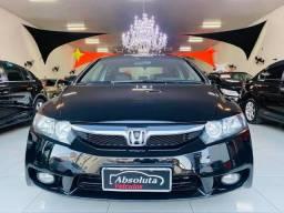 Civic 2010 lxs automático completo + couro, carro impecável !!!