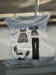 Camiseta tamanho P