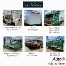 Baú, carroceria, tanque, poliguindaste, compactador