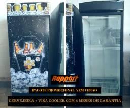 Cervejeira e Visa Cooler