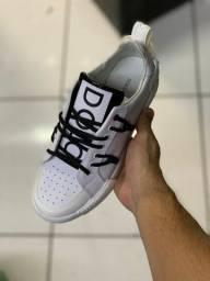 Tênis Dolce & Gabbana White Insert Portofino