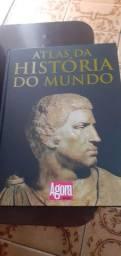Livro Atlas Da História do  Mundo