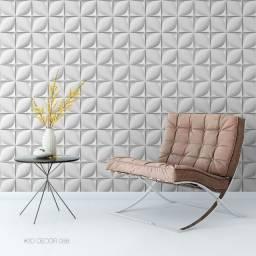 Adesivo Papel de Parede Decorativo Estampa Gesso 3D