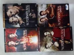 Box supernatural 8 temporadas