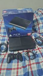 PlayStation 3 Slim 250GB + 7 jogos