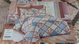 Kit colcha de cama Queen Edredon