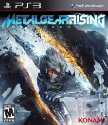 Metal Gear Rising: Revengeance - PS3 - Original- Novo