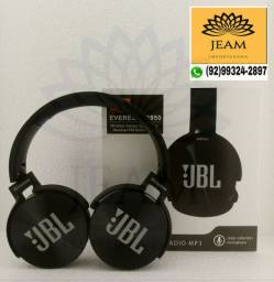 Fone de Ouvido Modelo JBL Bluetooth