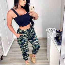 Calça Feminina Militar Nova