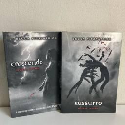 Título do anúncio: Livros sussurro e crescendo