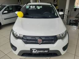 Luxo... Fiat Mobi 1.0 WAY  - Completo  - 2018