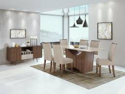 Mesa de Jantar Rock - 6 Cadeiras