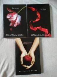 Kit Três Livros Crepúsculo