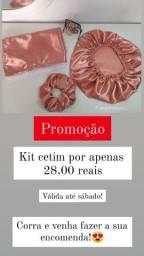 Título do anúncio: PROMOÇÃO; KIT CETIM POR APENAS 28,00 REAIS