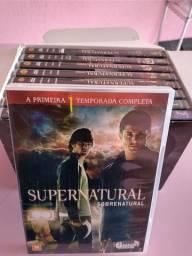 Box dvd série Supernatural (leia o anúncio inteiro)