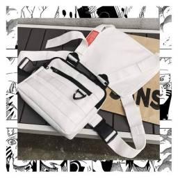 Bag estilo colete branca