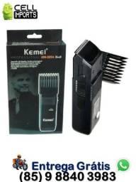 Título do anúncio: Maquininha Apara Barba Bigode Kemei Km 389a Bivolt Original